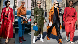 Colorful Leather Was