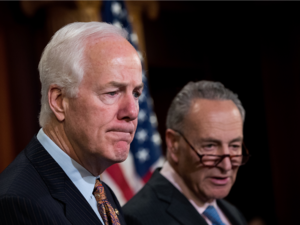 A bipartisan group of senators