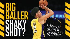 Can Lonzo Ball's Jumper Make