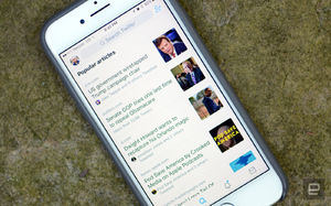 Twitter now displays popular