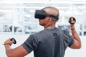 Oculus' Santa Cruz VR headset