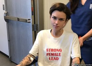 Ruby Rose Is Wheelchair-Bound