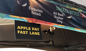 Apple Pay 'fast lanes,'