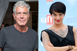 Anthony Bourdain is dating a