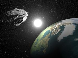 Asteroid that could be as big