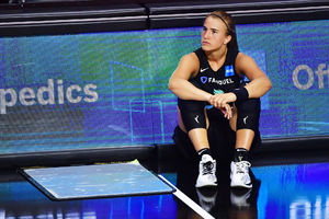 Sabrina Ionescu injures ankle,