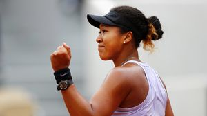 Top seed Osaka survives scare