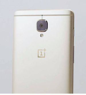OnePlus 3 Soft Gold variant
