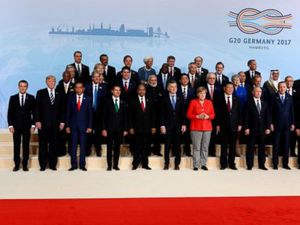 World leaders gather for G-20