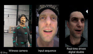 Disney makes facial capture