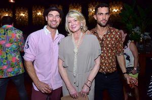 Martha Stewart and Male