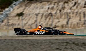 O'Ward sets the pace at Laguna