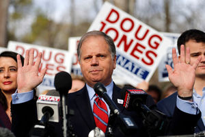 Democrat Doug Jones defeats