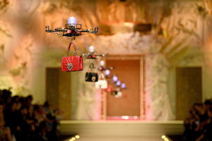 Drones take the runway at