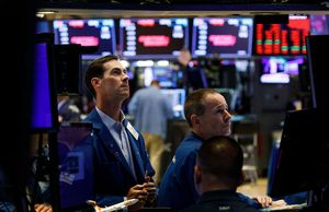 Dow plunges over 620 points as