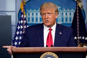 President Trump accuses