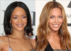 Rihanna Squashes Beyonce
