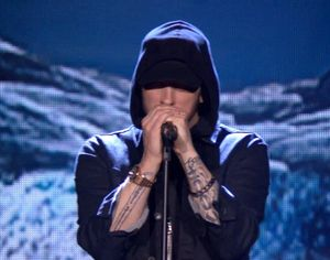 Eminem debuts 'Walk on Water'