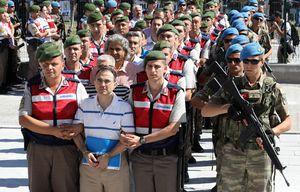 Turkey Puts Nearly 500 People