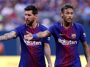 Messi, Suarez & Pique convince