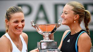 Mladenovic and Babos win