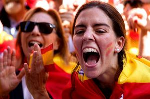 'Catalonia Is Spain.' Spanish