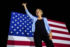 Elizabeth Warren leads Iowa