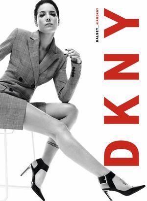 Halsey Strikes a Pose for DKNY