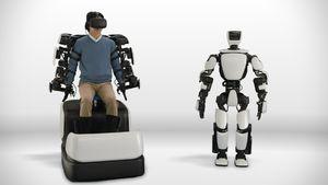 Toyota's T-HR3 robot mimics