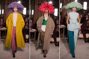 Valentino's 'jellyfish hats'