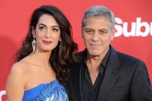 Amal and George Clooney give